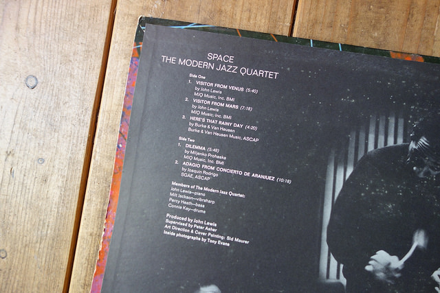 Space Gatefold listing